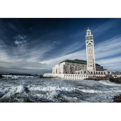 Tableau Mosquée Hassan II sur Océan