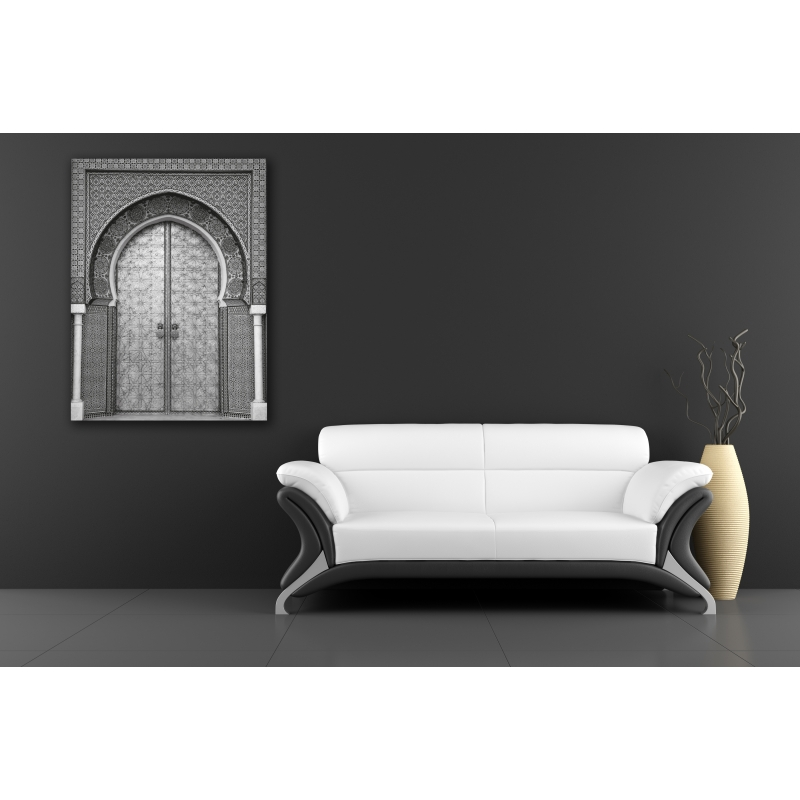 tableau porte marocaine l m deco. Black Bedroom Furniture Sets. Home Design Ideas