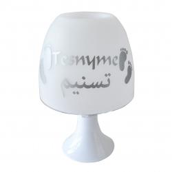 Lampe Personnalisé Empreintes Bébé (Francais-Arabe)